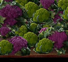 BEAUTIFUL PURPLE & GREEN CAULIFLOWER-PICTURE,TOTE BAG,TRAVEL MUGS,PILLOWS..ECT.. by ✿✿ Bonita ✿✿ ђєℓℓσ
