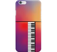 Piano Abstract iPhone Case/Skin
