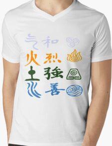 Avatar elements Mens V-Neck T-Shirt