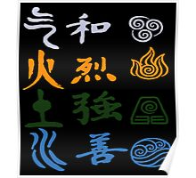 Avatar elements Poster