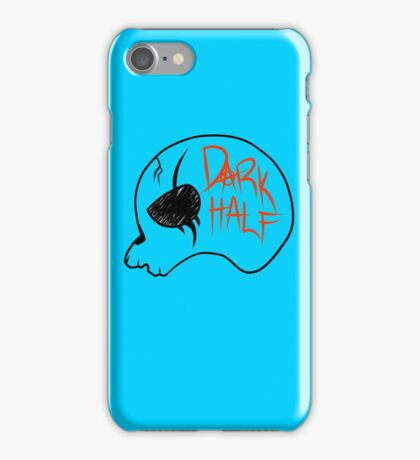 Dark Half - Skull Logo iPhone Case/Skin
