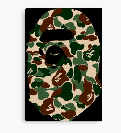 Ape Army Canvas Print