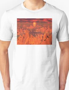 Space Islands of Orange T-Shirt