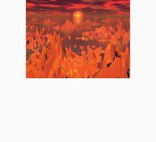 Space Islands of Orange Unisex T-Shirt