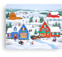 Wintertime in Sugarcreek Canvas Print
