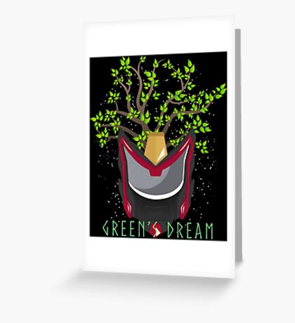 Green's Dream Love For Nature Greeting Card