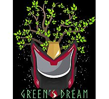 Green's Dream Love For Nature Photographic Print