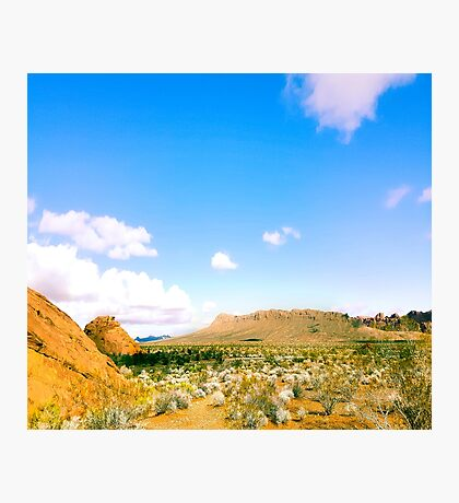 Valley Of Fire Landscape Photographic Print