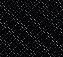 Black Diamond plate Cool Look by patterns