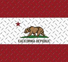 California Republic Diamond Plate by patterns