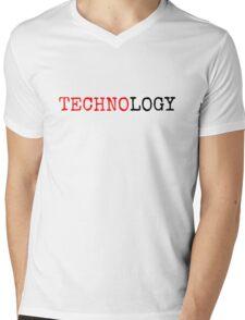 Technology Mens V-Neck T-Shirt