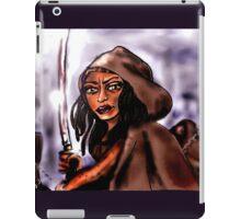 """Michonne [and """"friends""""] iPad Case/Skin"""