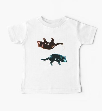 Dancing With the Devil Baby Tee