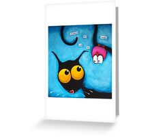 Upside Down Greeting Card