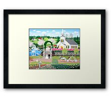 A Walk with My Father Framed Print
