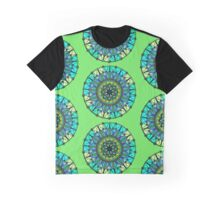 Sacred and Serene Watercolor Mandala  Graphic T-Shirt