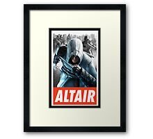 -GEEK- Altair Assassin's Creed Framed Print