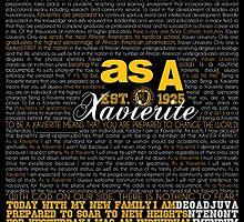 As A Xavierite Print by TAELRDEXISTENCE