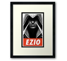-GEEK- Ezio Auditore Assassin's Creed Framed Print