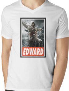 -GEEK- Edward Kenway Assassin's Creed Mens V-Neck T-Shirt