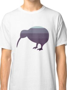 Kiwi in Blueberry Ice Cream Ombre Classic T-Shirt