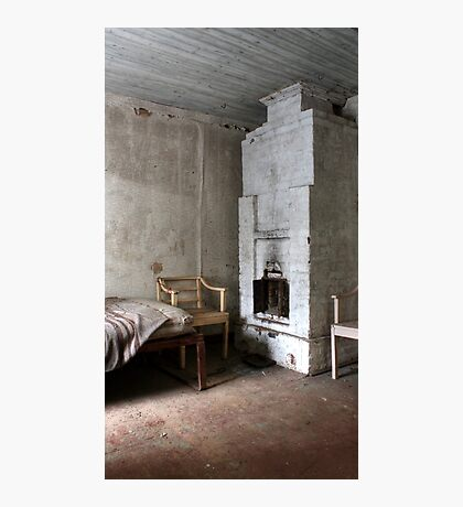 3.1.2017: Winter Morning in Abandoned House Photographic Print