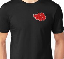 Naruto - Akatsuki cloud design Unisex T-Shirt