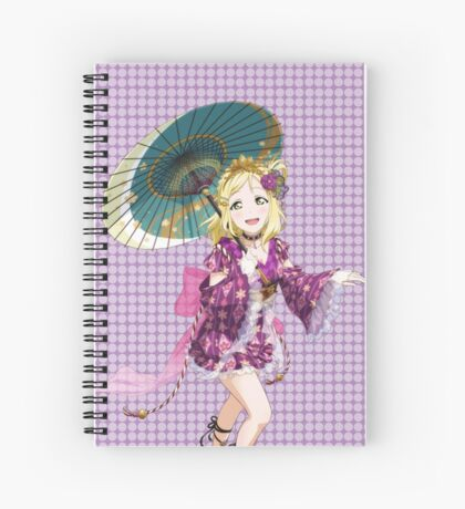 Mari Ohara Spiral Notebook
