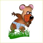Shh.. Bear Has News! (Playing Dress UP)  T shirt (3265  Views ) by aldona