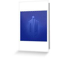 Tardis Logo Greeting Card
