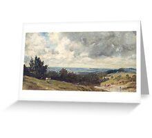 John Constable    Hampstead Heath, with Harrow in the Distance Greeting Card