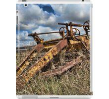 Old Farming Equipment iPad Case/Skin