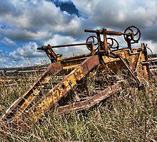 Old Farming Equipment by DavidONeill