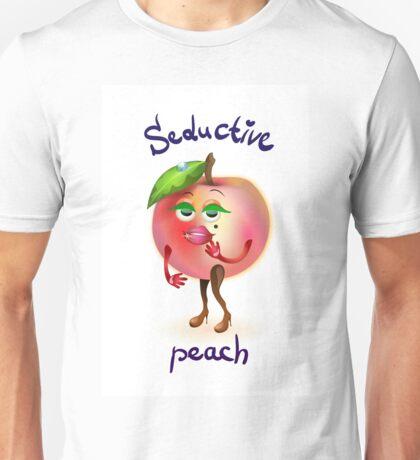 Attractive peach dancing Unisex T-Shirt