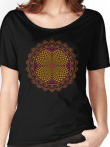 Crown Chakra, Sahasrara , Yoga, Buddhism, Lotus Flower Women's Relaxed Fit T-Shirt