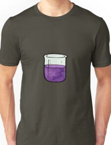 science beaker cartoon Unisex T-Shirt