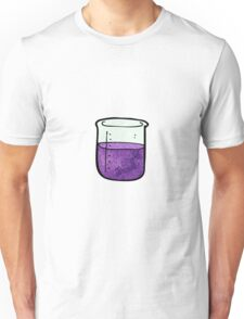 science beaker cartoon Unisex T-Shirt