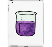 science beaker cartoon iPad Case/Skin