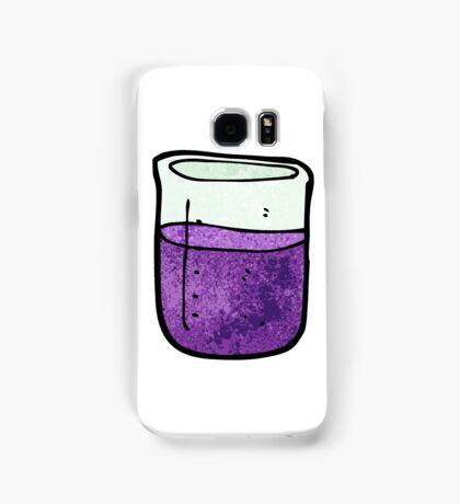science beaker cartoon Samsung Galaxy Case/Skin