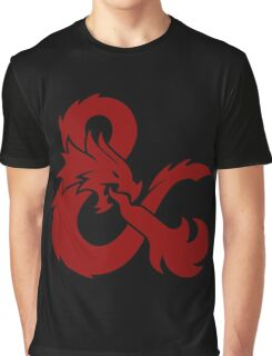 DnD logo (Red) Graphic T-Shirt