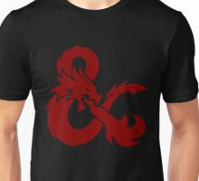 DnD logo (Red) Unisex T-Shirt