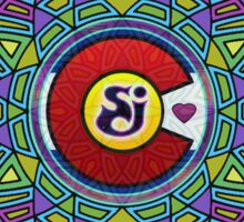 String Cheese Incident Sacred Mandala Colorado Love Sticker