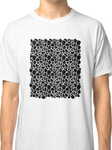 Abstract Safari - Geometric Black and White Pattern Classic T-Shirt