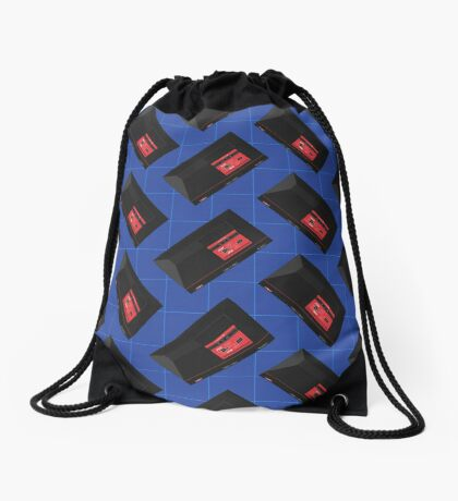 Master System (blue) Drawstring Bag