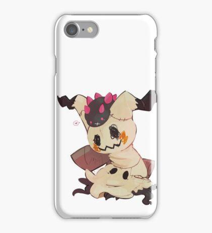 Pokemon: Pyukumuku and Mimikyu iPhone Case/Skin