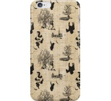 Toile Death iPhone Case/Skin