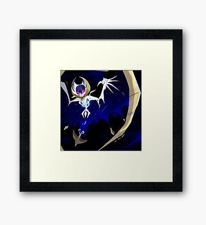 Pokemon: Lunala Framed Print