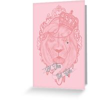 Liontoinette Greeting Card