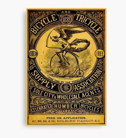 HUMBER BICYCLES; Vintage Advertising Print Canvas Print