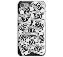 I've been everywhere, man... iPhone Case/Skin